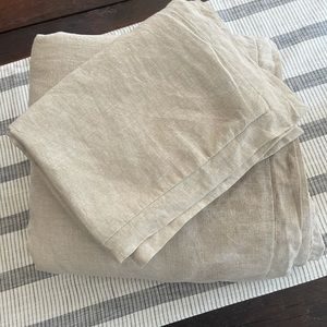 Hotel collection duvet cover and two shams